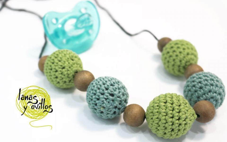 Tutorial collar de lactancia crochet ganchillo patrón gratis con ...