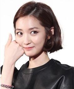 go jun hee short hair