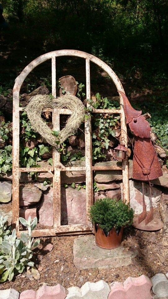 Altes Stallfenster Weihnachtlich Gestalten Stallfenster Garten Deko
