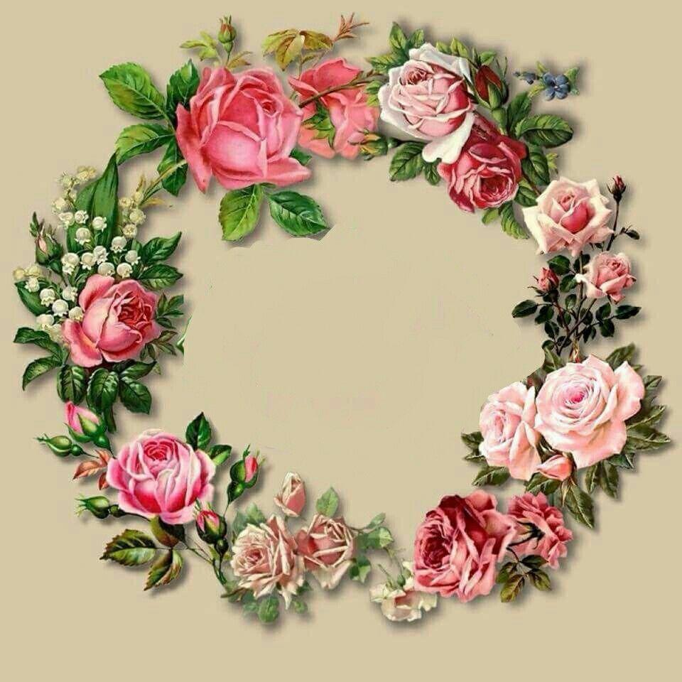 декупаж картинки цветы венки том, какой состав