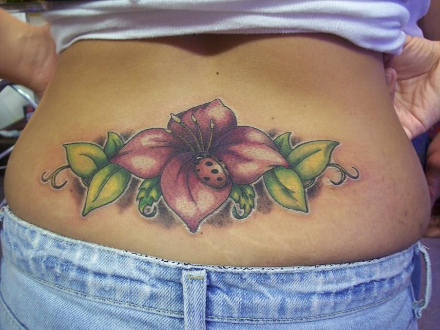 Girls Back Tattoo Back Tattoo Women Lower Back Tattoos Girl
