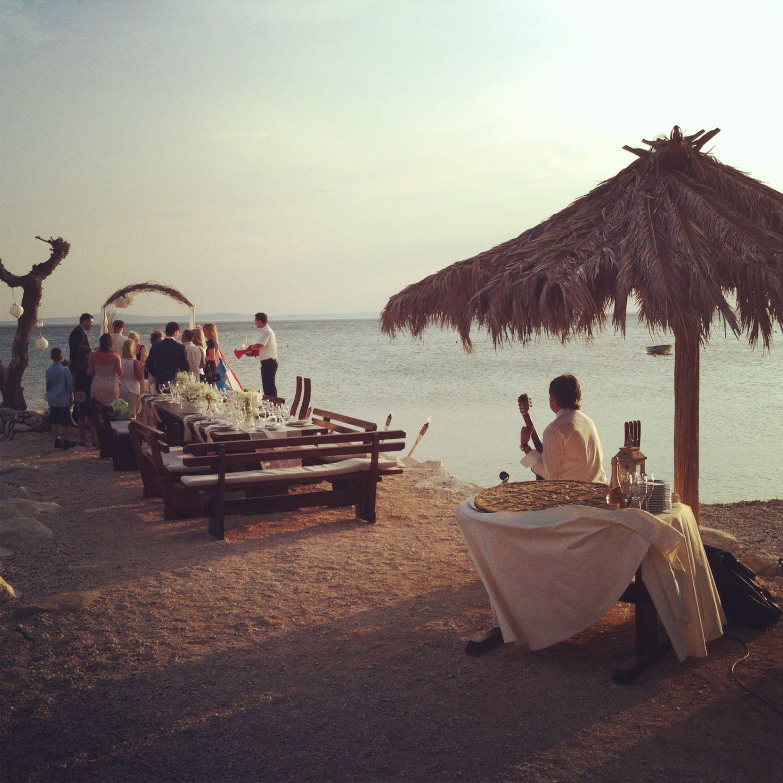 beach wedding south west uk%0A Beach Wedding in Croatia