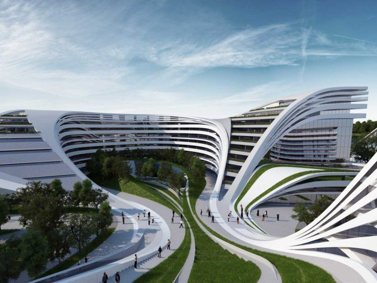 In late 2012, Hadid unveiled plans for the zany Beko building in downtown Belgrade. It's slated to be a city center with residential, retail, and commercial space.