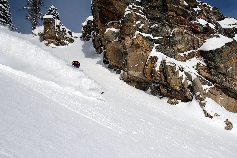 Casper Bowl Delivers Some Deep Powder At Jackson Hole Jackson Hole Mountain Resort Ski Usa Snow Skiing