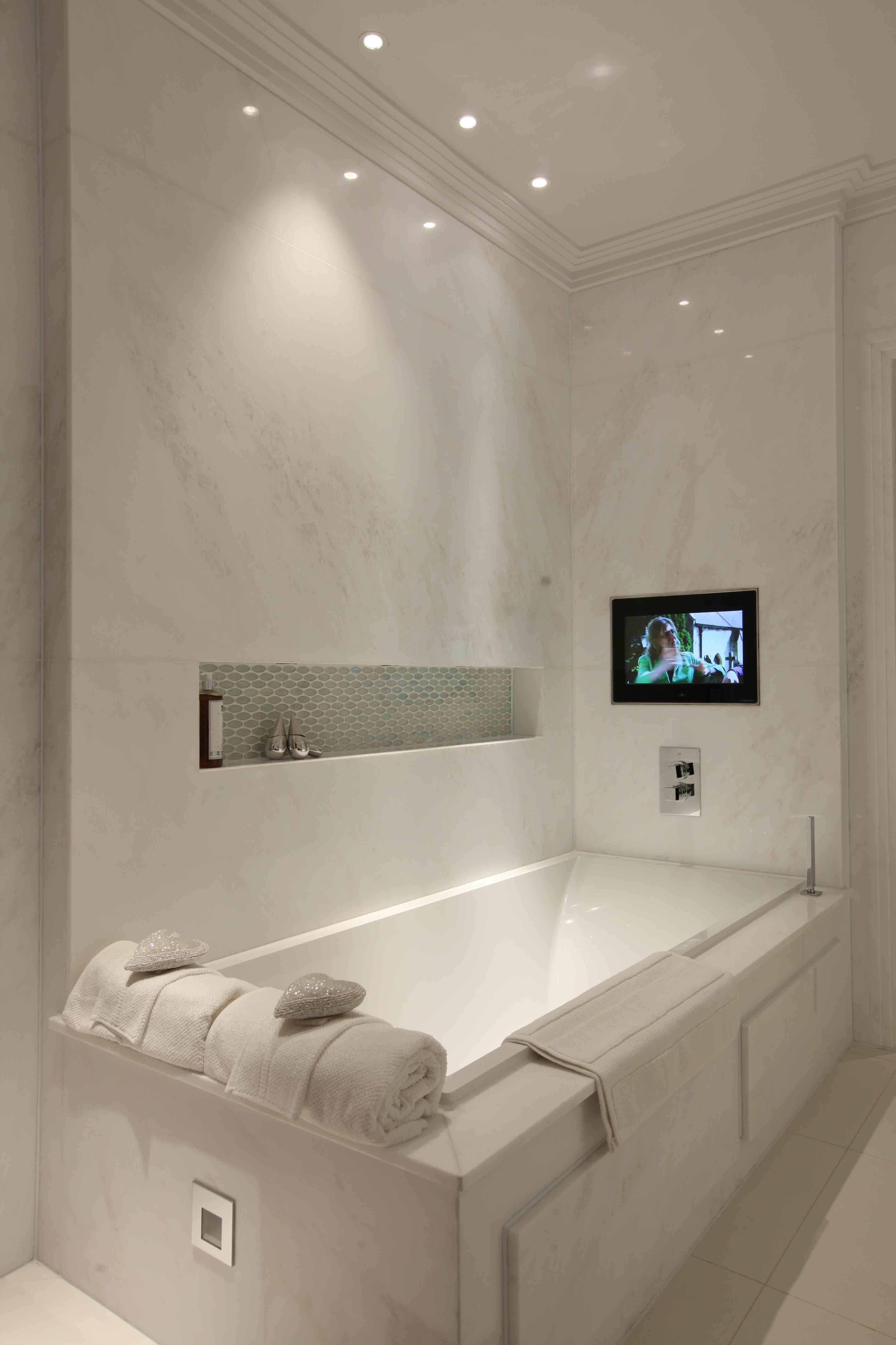 Bathroom Lighting Design By John Cullen Lighting Bathroom Lighting Design Luxury Bathroom Bathroom Design