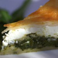 food and foto: Grüne Blattgemüse-Torte mit Stielmus, Mangold und ...