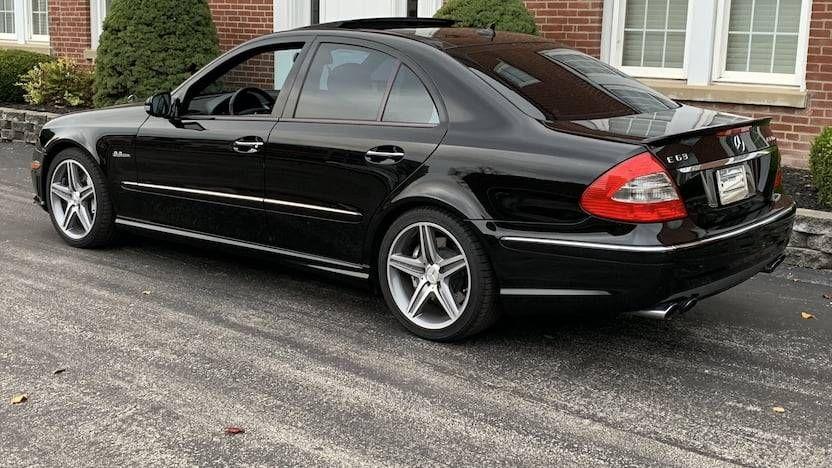 2008 mercedesbenz e63 amg car of choice for the bad