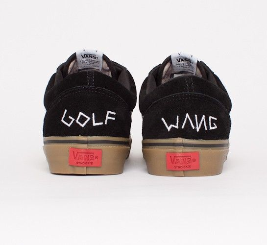vans old skool pro s golf wang black