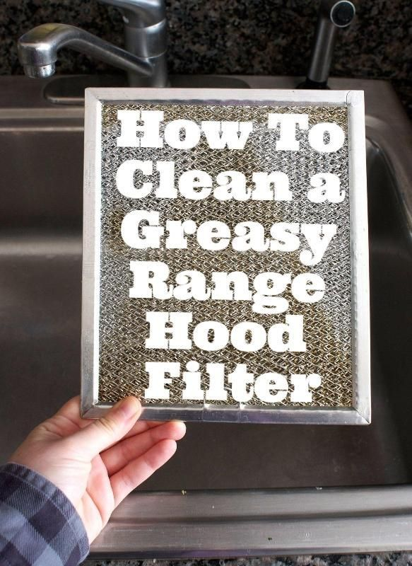 Exceptional How To Clean A Greasy Range Hood Filter