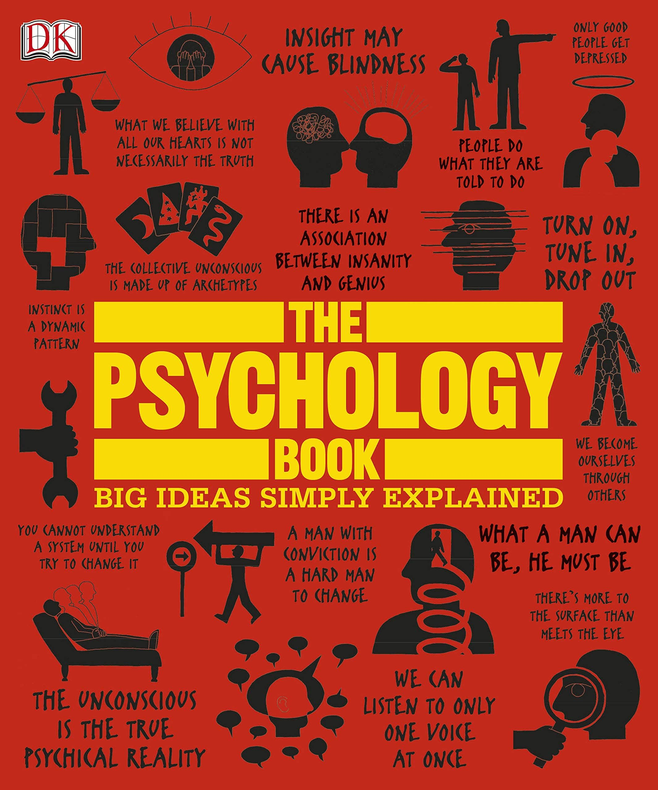 The Psychology Book Big Ideas Simply Explained In 2021 Psychology Books Books Psychology