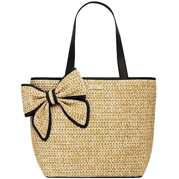 Pre Owned Kate Spade Belle Place Straw Summer Style Pxru5564