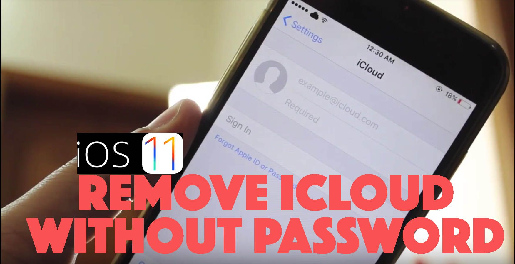 Delete Icloud Account From Iphone Without Password Ios11 Delete Icloud Account Without Password Turn Off Find My Iphone Icloud Unlock Iphone Free Ipad Hacks