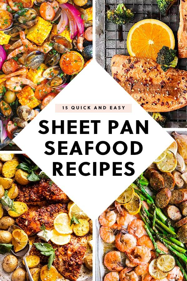 Photo of 15 Quick Sheet-Pan Seafood Recipes to Try for Dinner