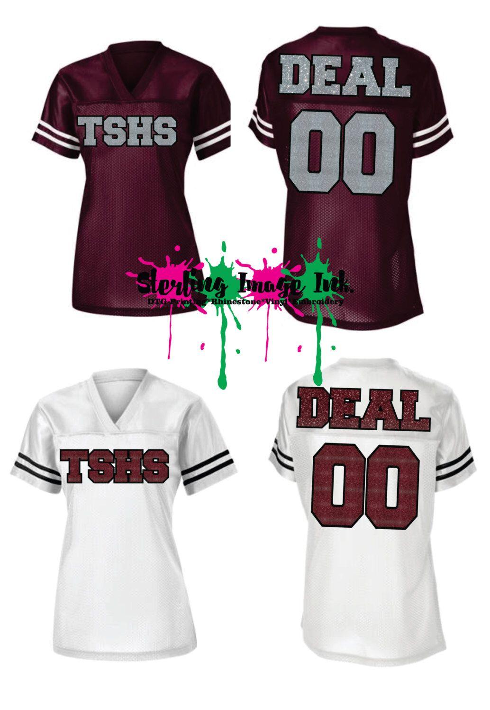Custom Jersey Shirt, Cheerleader Jerseys, Football Jersey ...