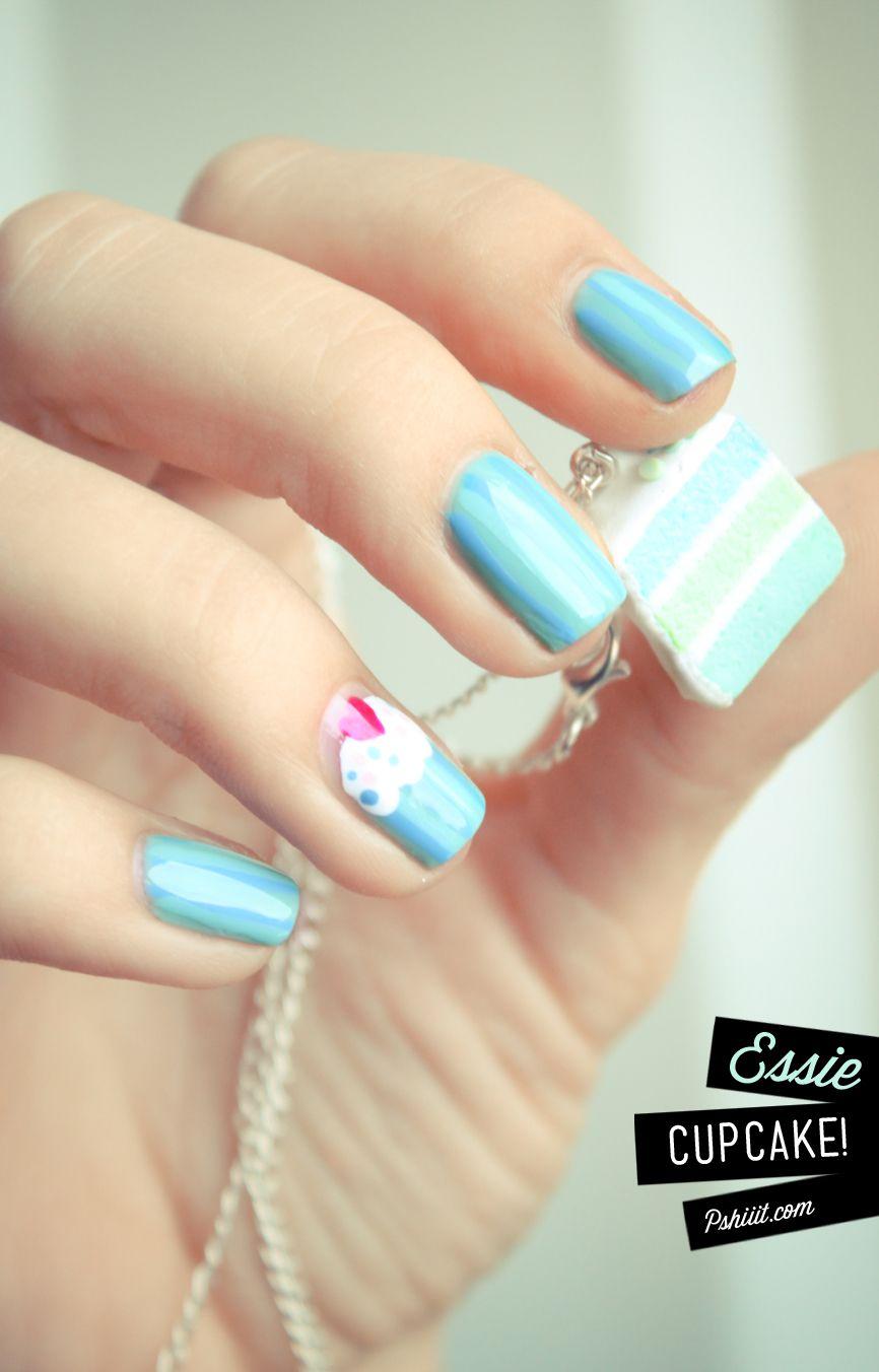 Recette Pour Un Nail Art Gourmand Cupcake Pinterest Nail
