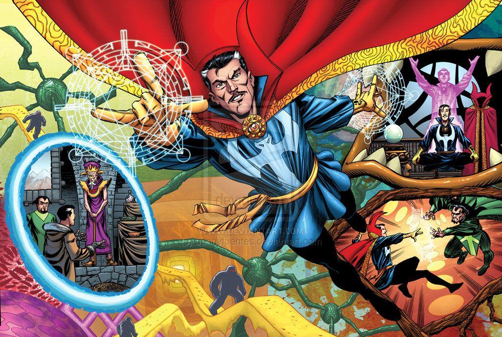 Marvel Universe Dr Strange by bennyfuentes on DeviantArt | Doctor strange marvel, Doctor strange, Dr strange