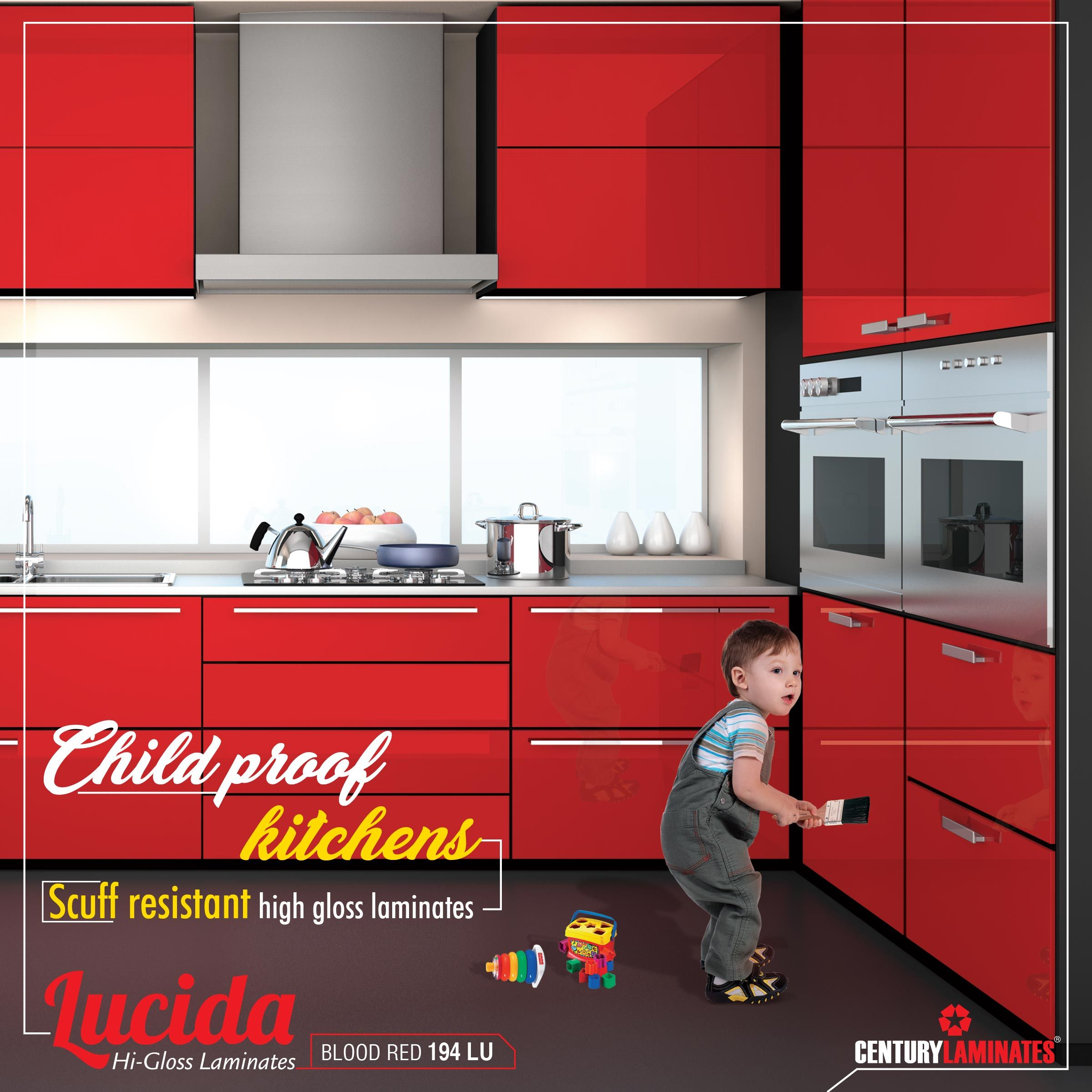 Lucida High Gloss Laminates Is Scuff Resistant Best Choice For Your Kitchens Centurylaminates Lucida Click Here Http Bit Laminates High Gloss Century