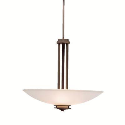 Kichler Lighting 3275ni Hendrik Three Light Inverted Pendant