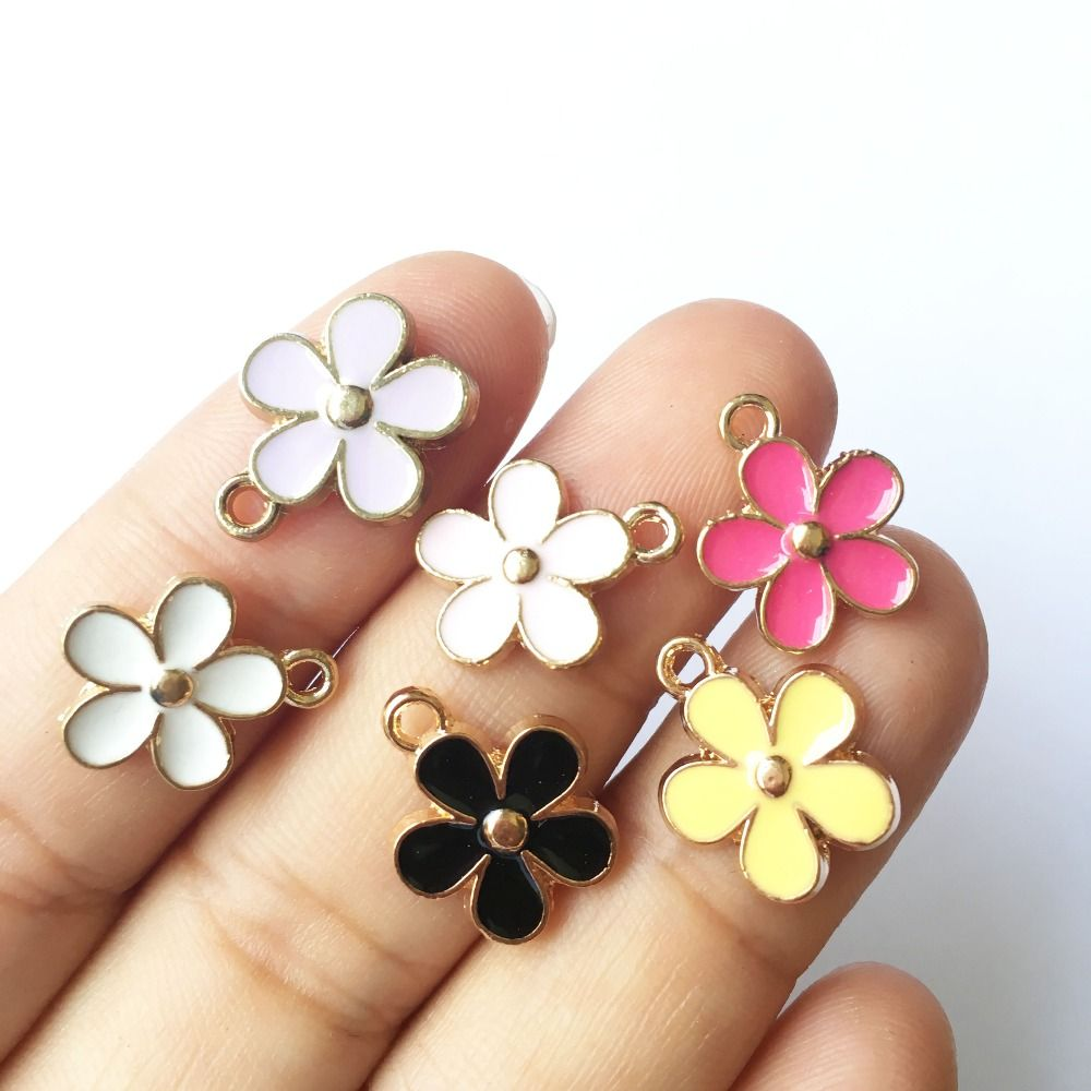 Mini order pcsmm mix colors gold color plated spring little
