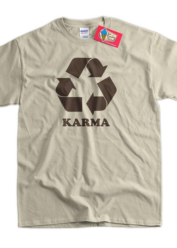 17a2c0f74b76 Funny Karma T-Shirt - Karma Tee Shirt T Shirt Geek Mens Ladies Womens Youth  Kids