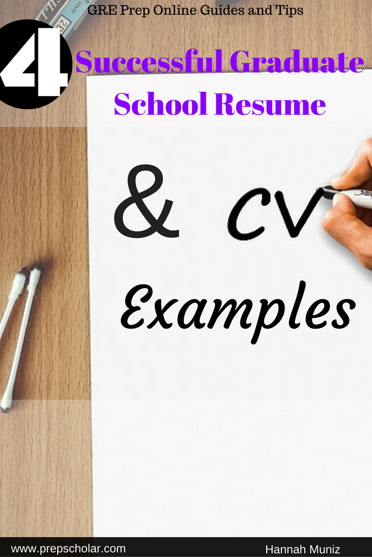How To Construct A Resume Crafting The Perfect Resume Or Cv For Graduate School Can Be .