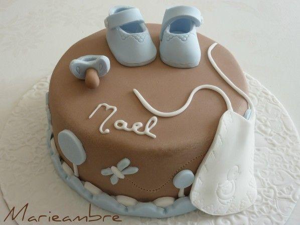gateau pate a sucre bebe garcon - recherche google | cake desing