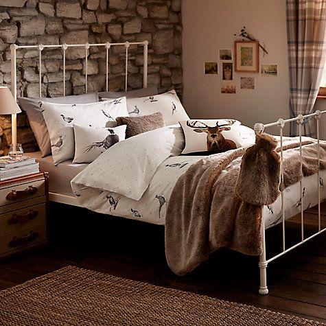 Buy John Lewis Pheasant Scene Duvet Cover And Pillowcase Set