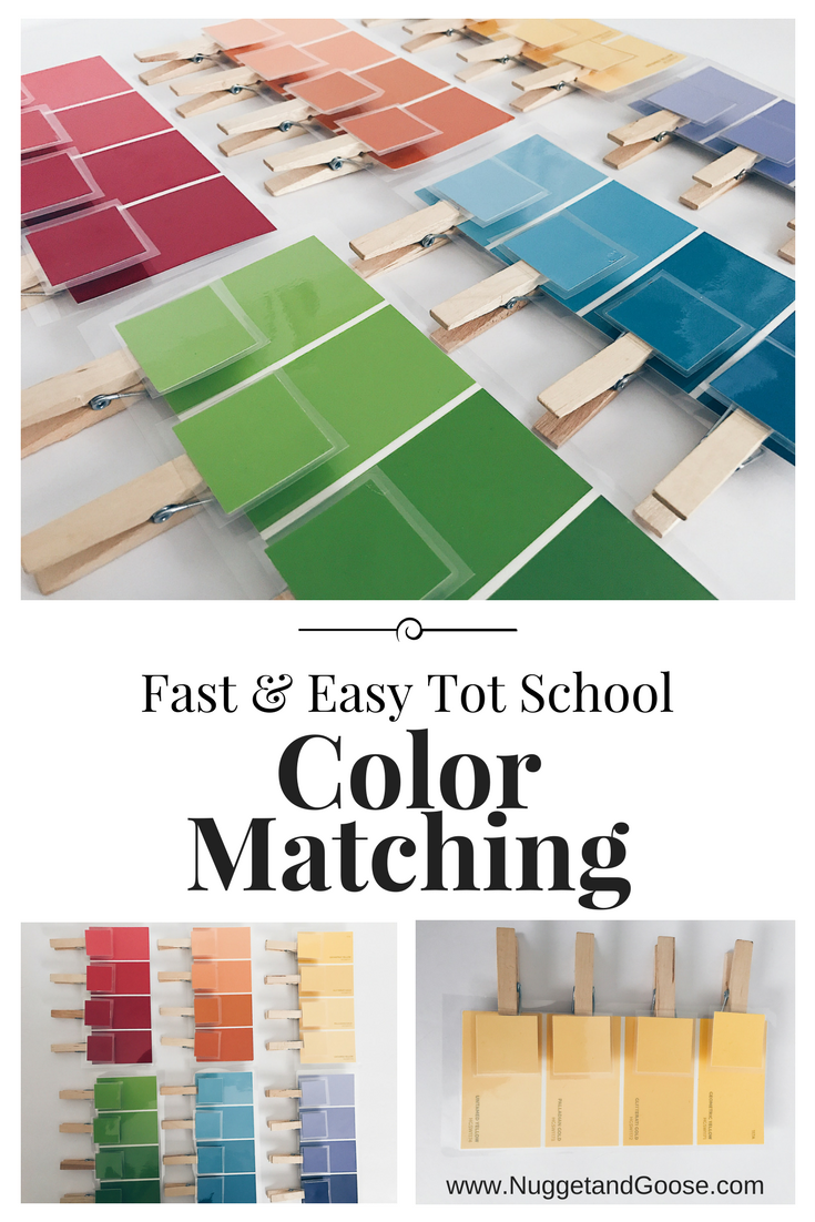 Easy Early Tot School Color Unit | Tot school, School colors and ...