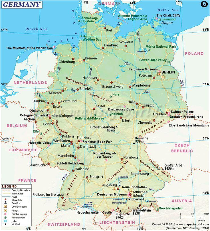 Romantic Road Germany Fcebdafjpg - Germany map romantic road