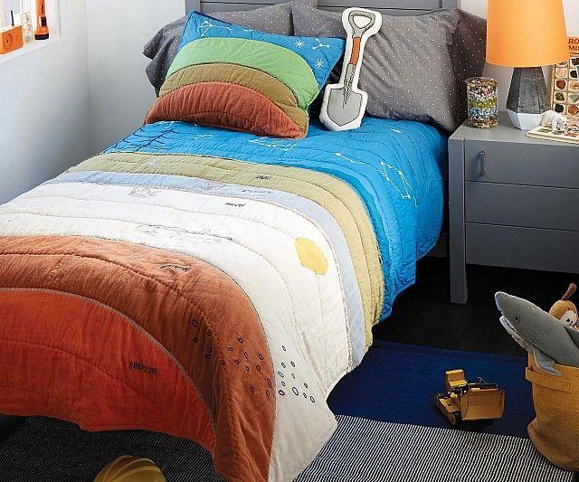 la parure de lit enfant pour apprendre la science de la terre parures de lit insolites. Black Bedroom Furniture Sets. Home Design Ideas