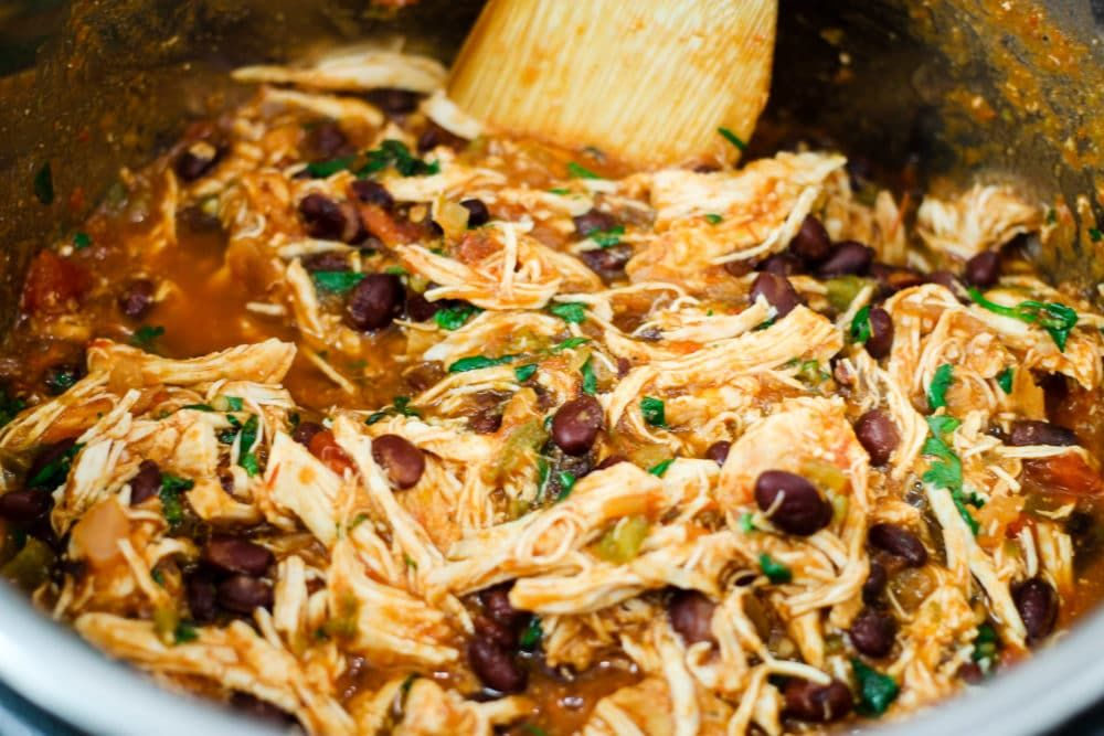 Insta Pot Chicken Chili Recipes