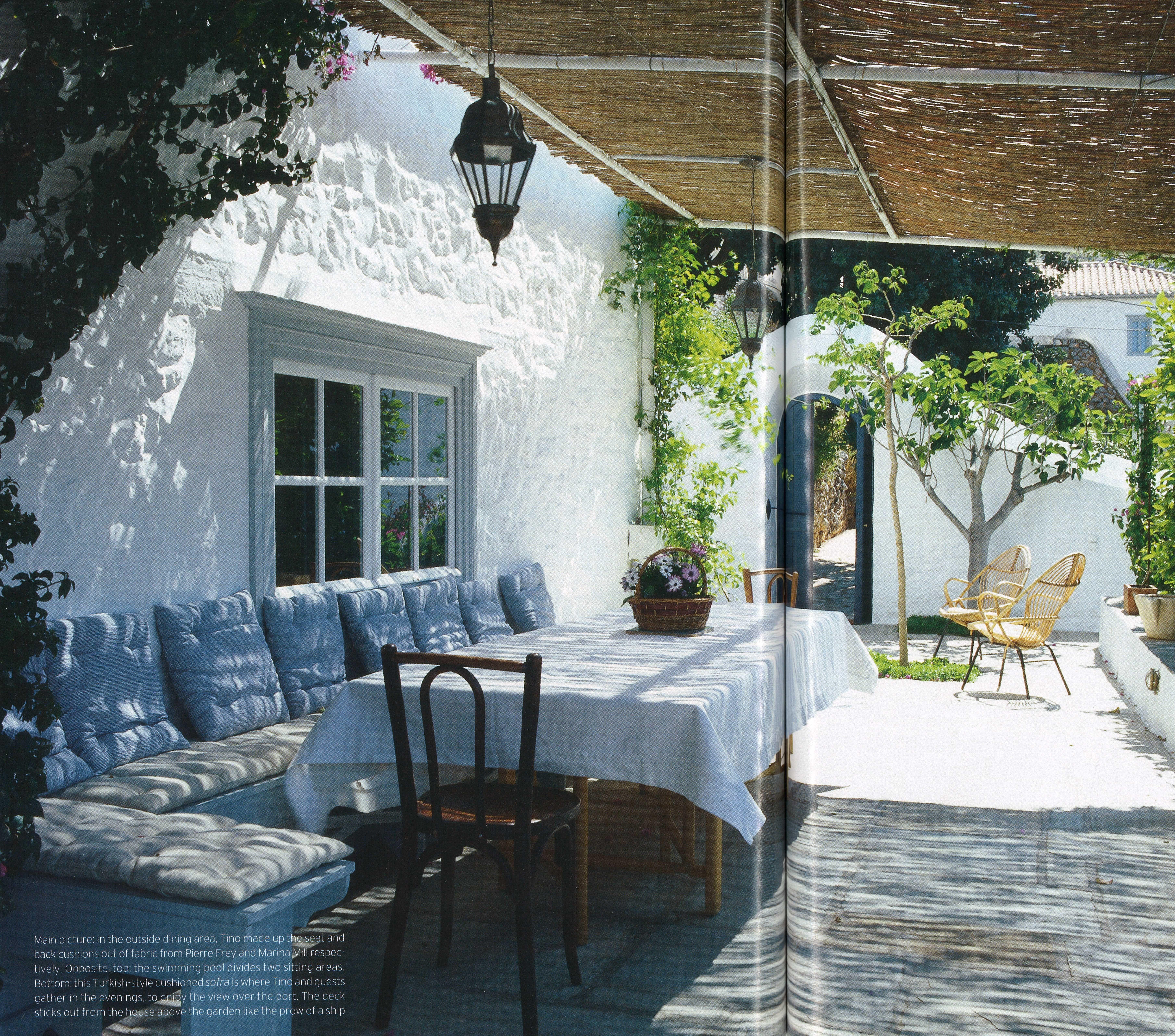 Tino Zervudachi Hydra House Terrace | Hydra | Pinterest | House ...