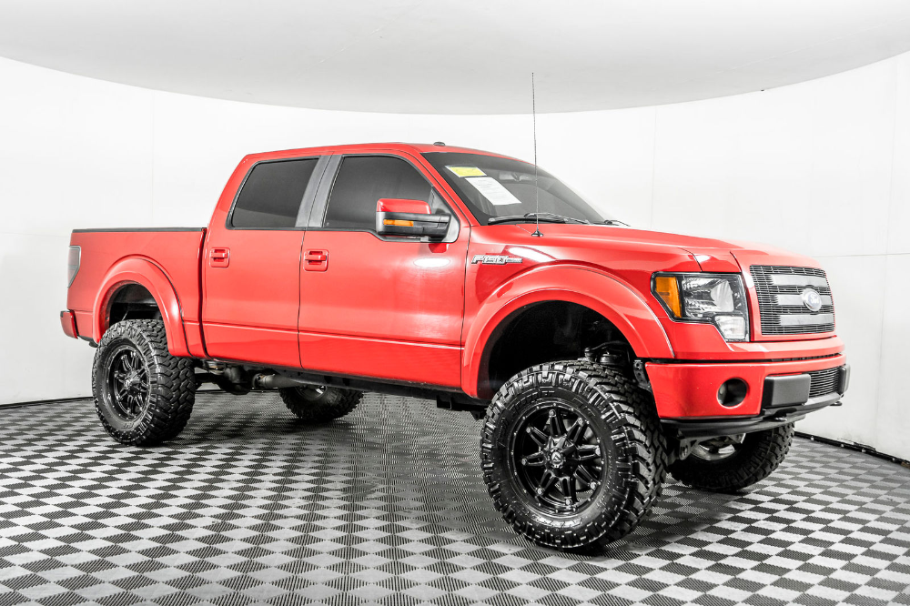 Used Lifted 2010 Ford F150 FX4 4x4 Truck For Sale