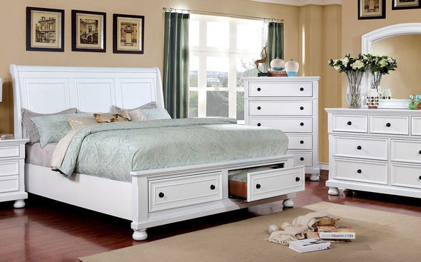 Castor White Queen Size Bed With Images Furniture Bedroom Set Bed Frame With Storage