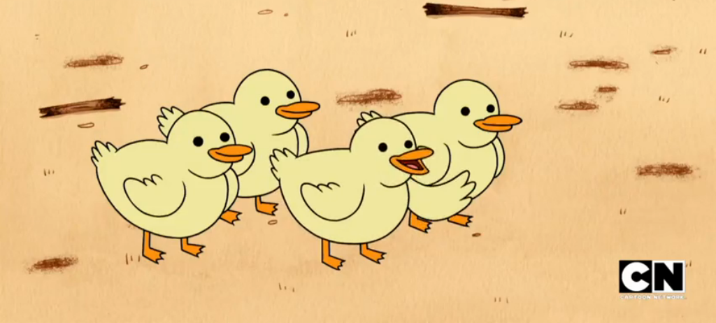 Baby Ducks from Regular Show :D