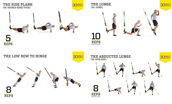 Get a Sculpted Body with TRX Bands Exercises   Suspension ...