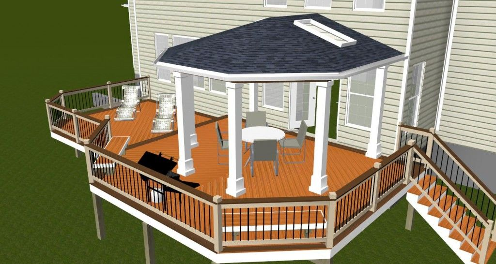 Pin By Kathy Mills On Garage And Deck Ideas Deck Design Software Diy Deck Screened Porch Designs