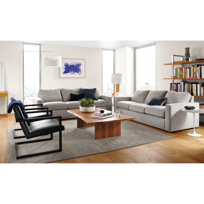 Lira Leather Lounge Chair     Modern Living Room Furniture   Room ...