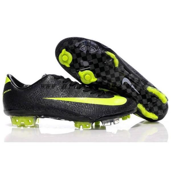 Nike Mercurial Vapor Superfly III FG Safari Black Green Soccer Cleats  Football Boots 224721701d49