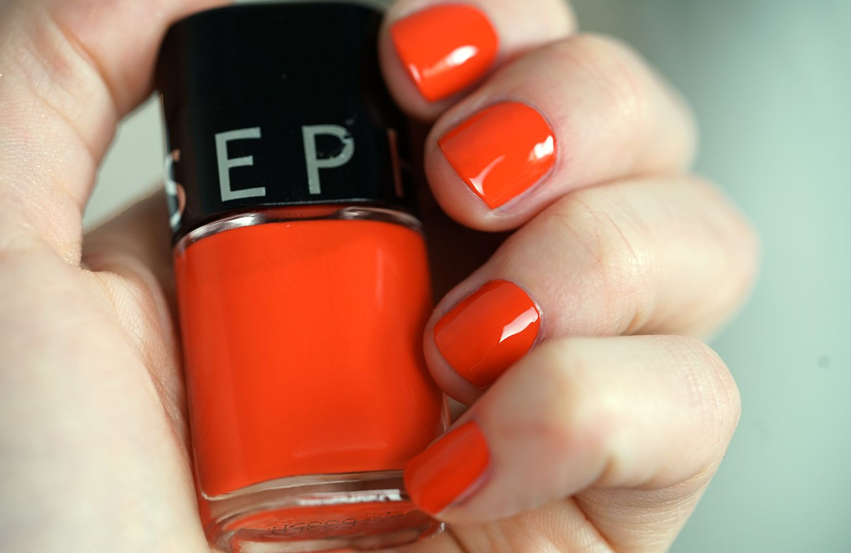 """Sephora polish """"Summer Poppy"""" swatch"""