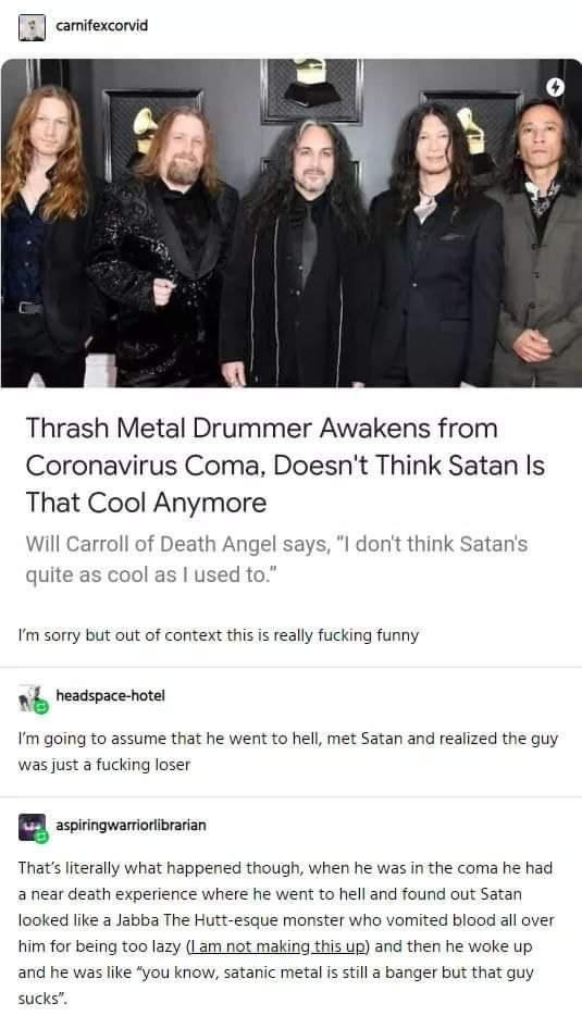 Satan you suck !