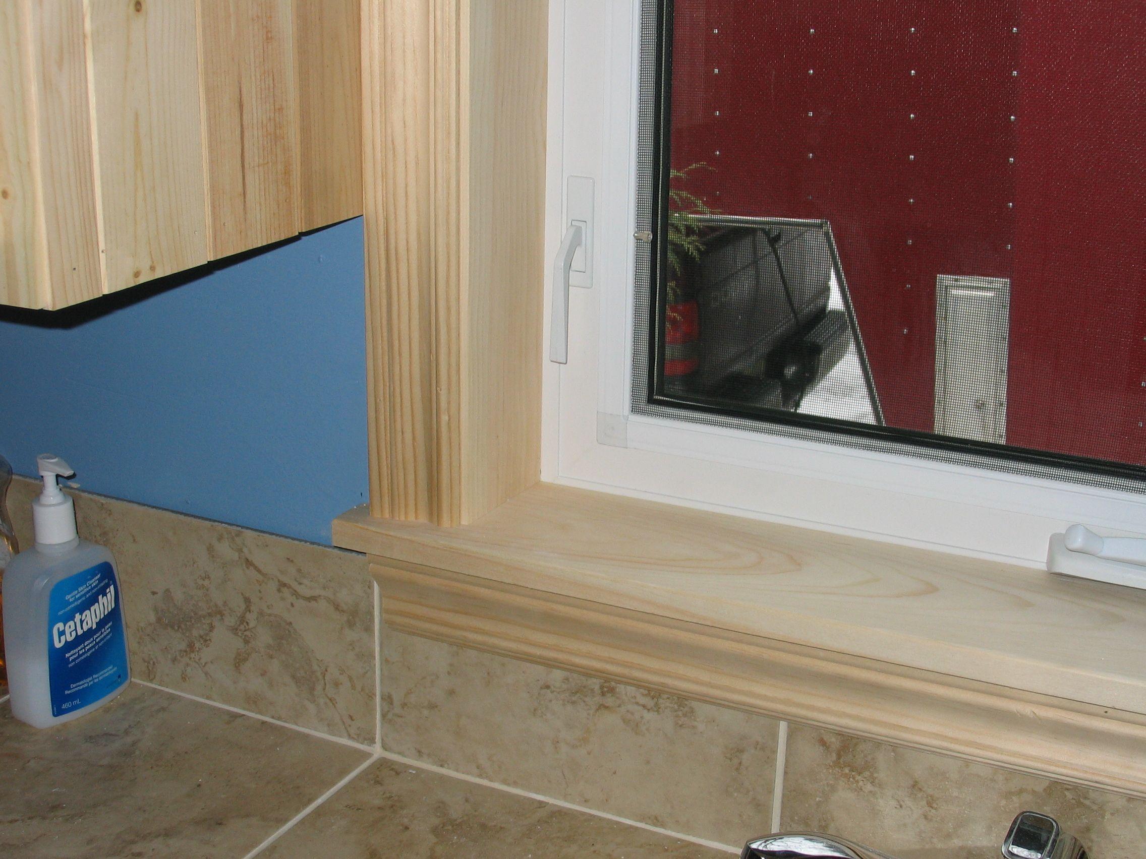 Interior window sill trim ideas - Window In The Kitchen