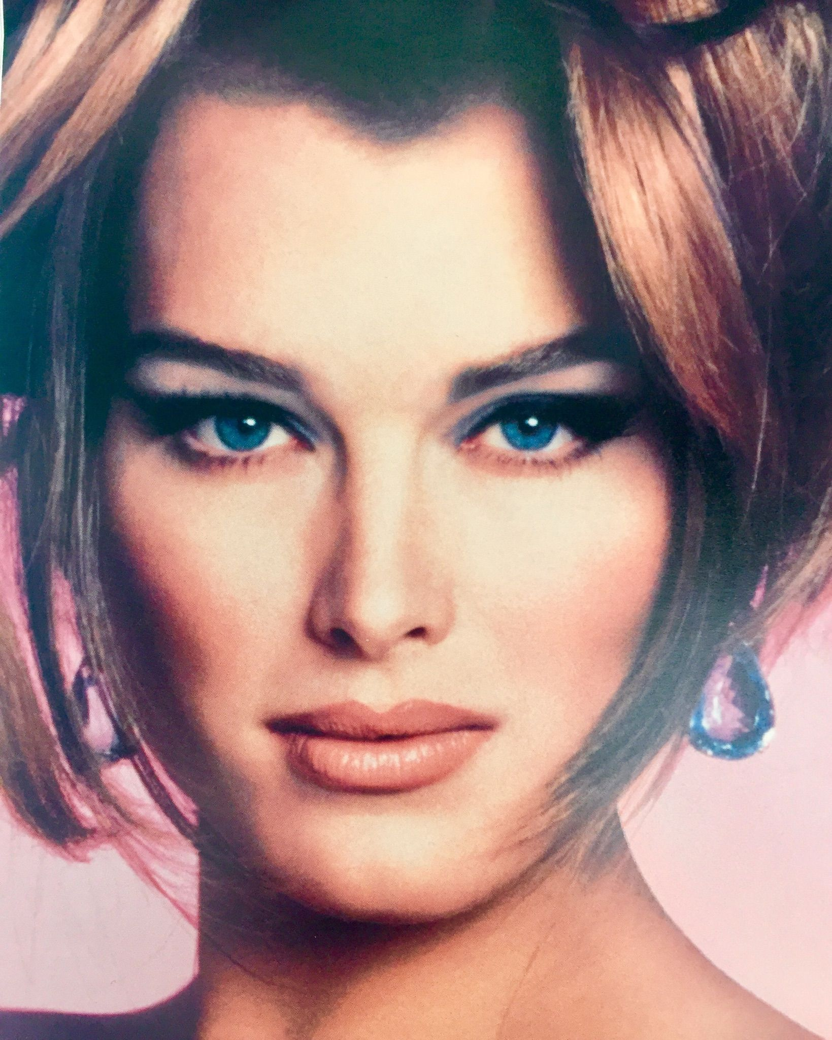 Brooke Shields Makeup By Kevyn Aucoin 90s Hairstyles 90s Fashion Grunge 90s Fashion