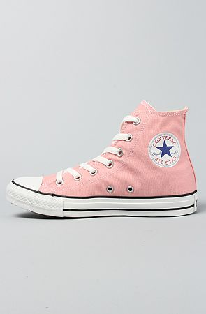 Converse The Chuck Taylor All Star Hi Sneaker in Quartz Pink