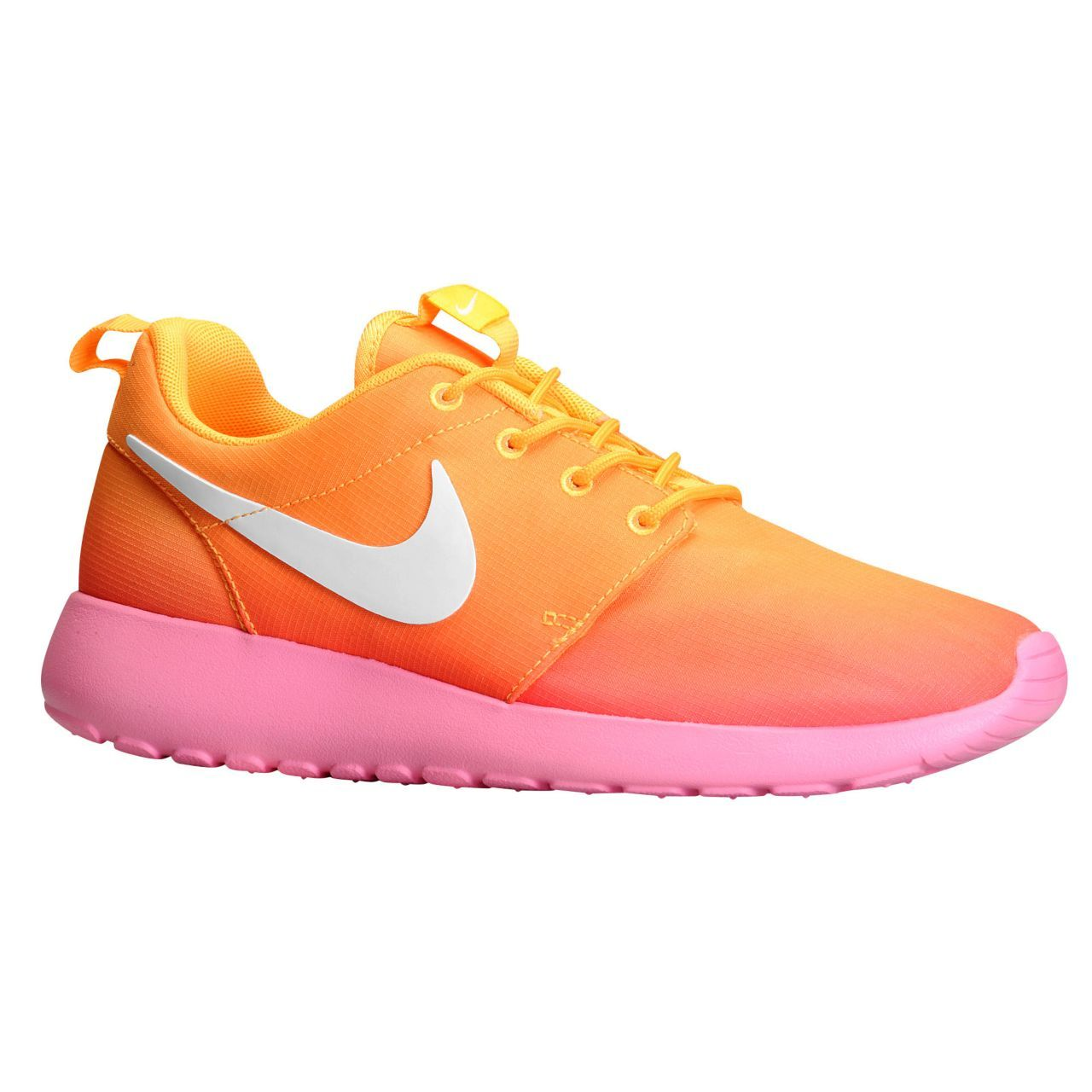 new product c18fb 4b677 Nike Femme Roshe One Orange Rose Chaussure