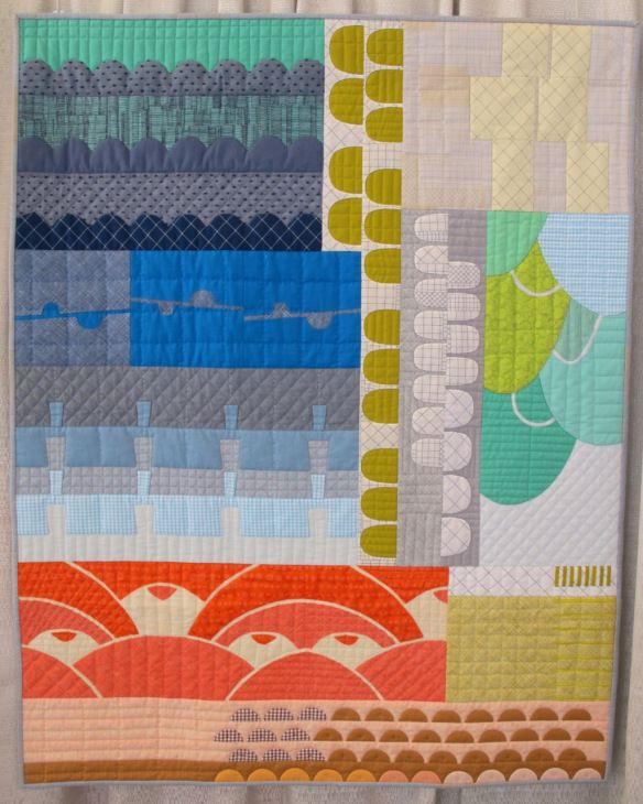 Collection by Carolyn Friedlander - the actual quilting