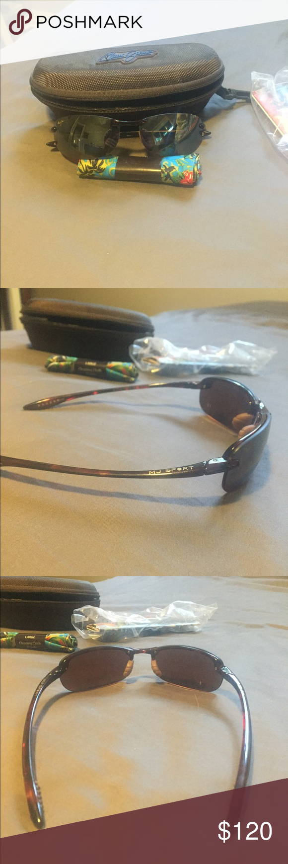 4c3e6ba5a559 Case & cleaning towel included as well. Tortoise frame & HCL Bronze Lens. Style  number 405-10 Maui Jim Accessories Sunglasses