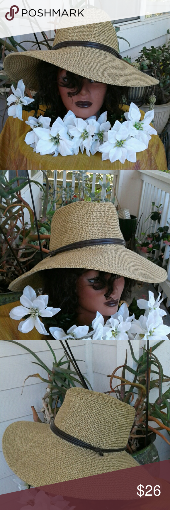 5a0a1a01c398d I just added this listing on Poshmark  ❤ GOLDCOAST SUNWEAR WIDE FLOPPY HAT.