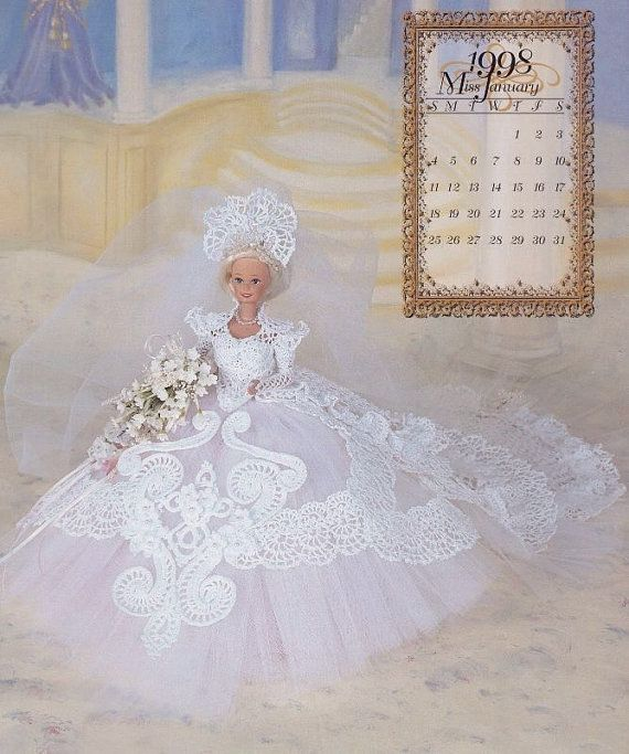 Miss January 1998 The Wedding Ballgowns, Annie Potter Fashion Doll ...