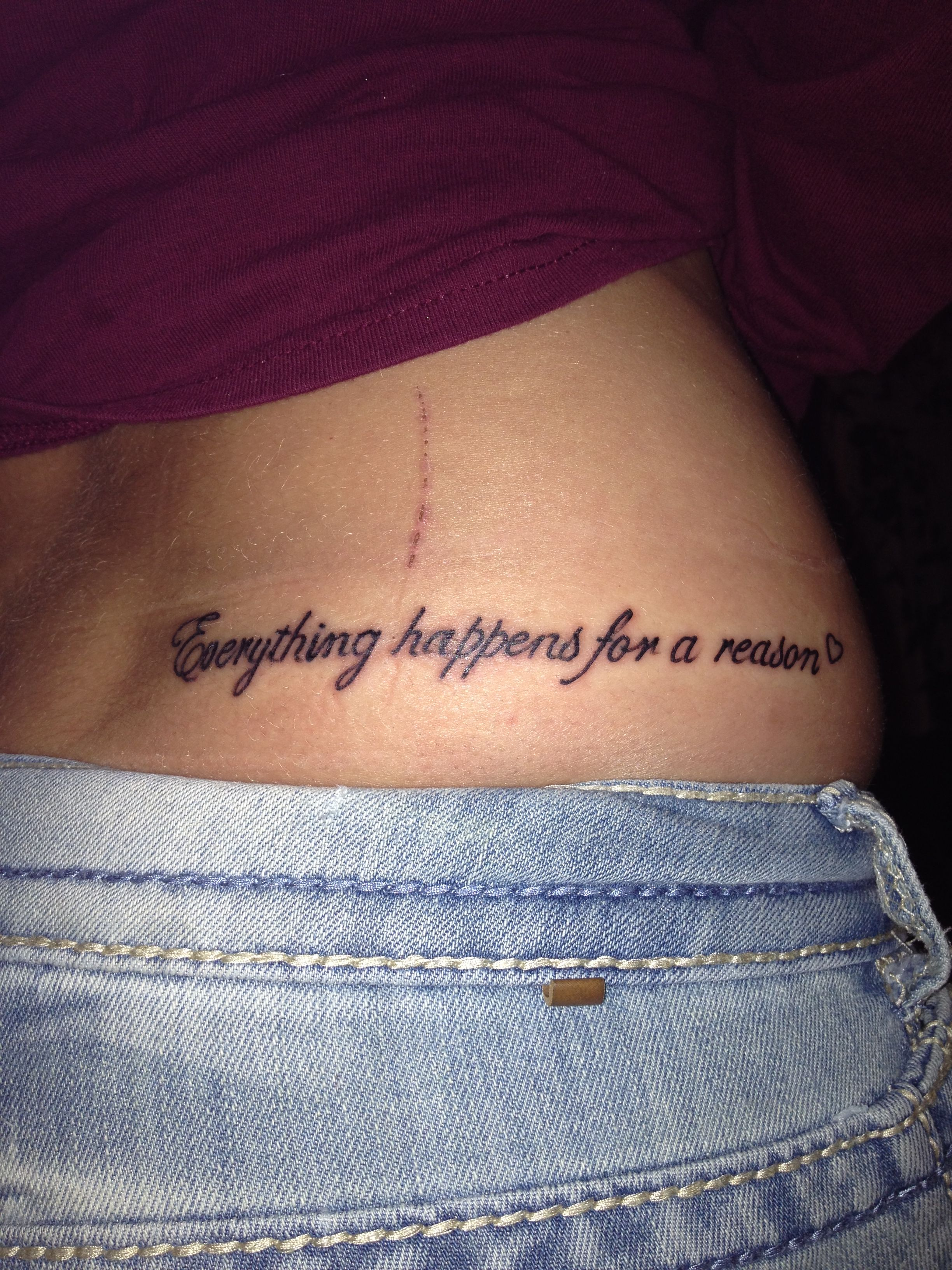 everything happens for a reason Have faith that everything happens for a reason, when you are experiencing grief or loss here are some great everything happens for a reason tattoo designs for your.